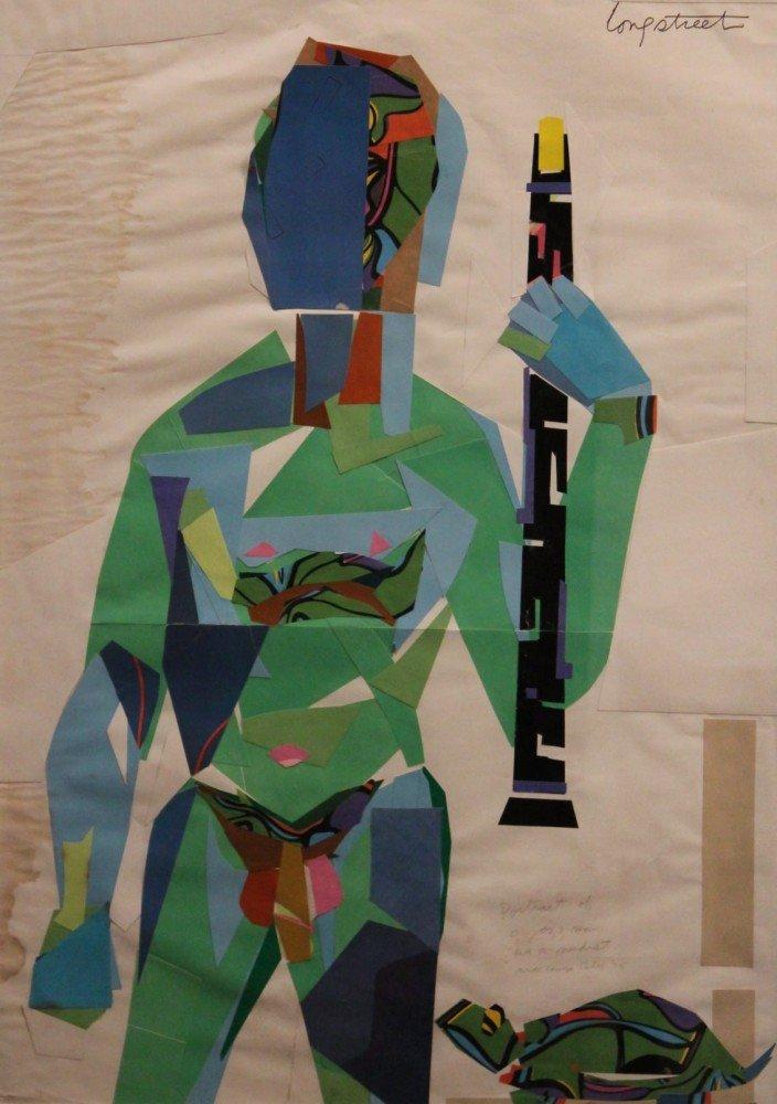 Portrait of a Jazz Man as Nudist, Nude Camp, California by Stephen Longstreet