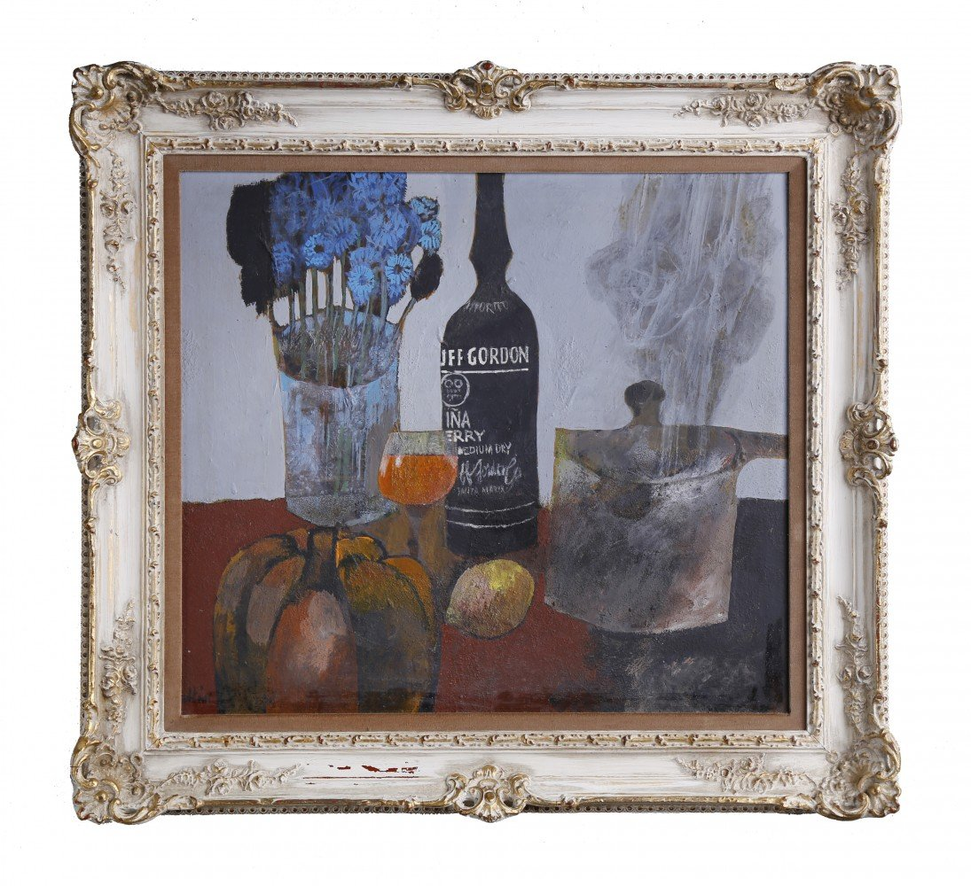 Still Life with Duff Gordon