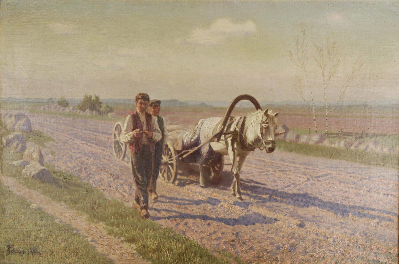 In the Fields by Jan Grubinski