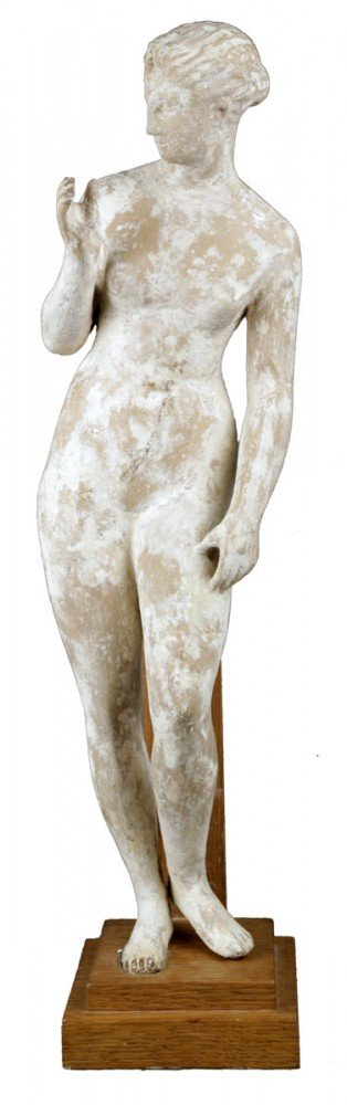 A Terracotta Figure of a Standing Nude, after the Antique