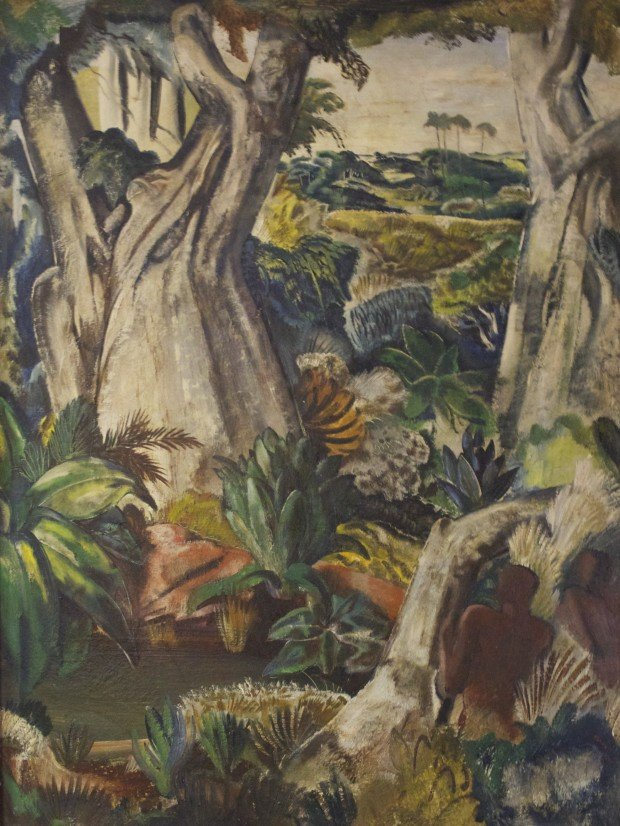 Jungle Scene II by Paul Bough Travis