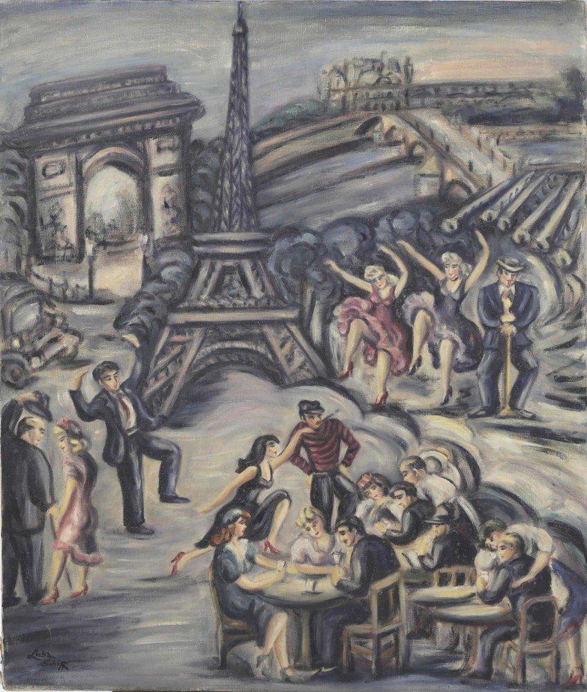 The Joys of Paris by Luba Schiff
