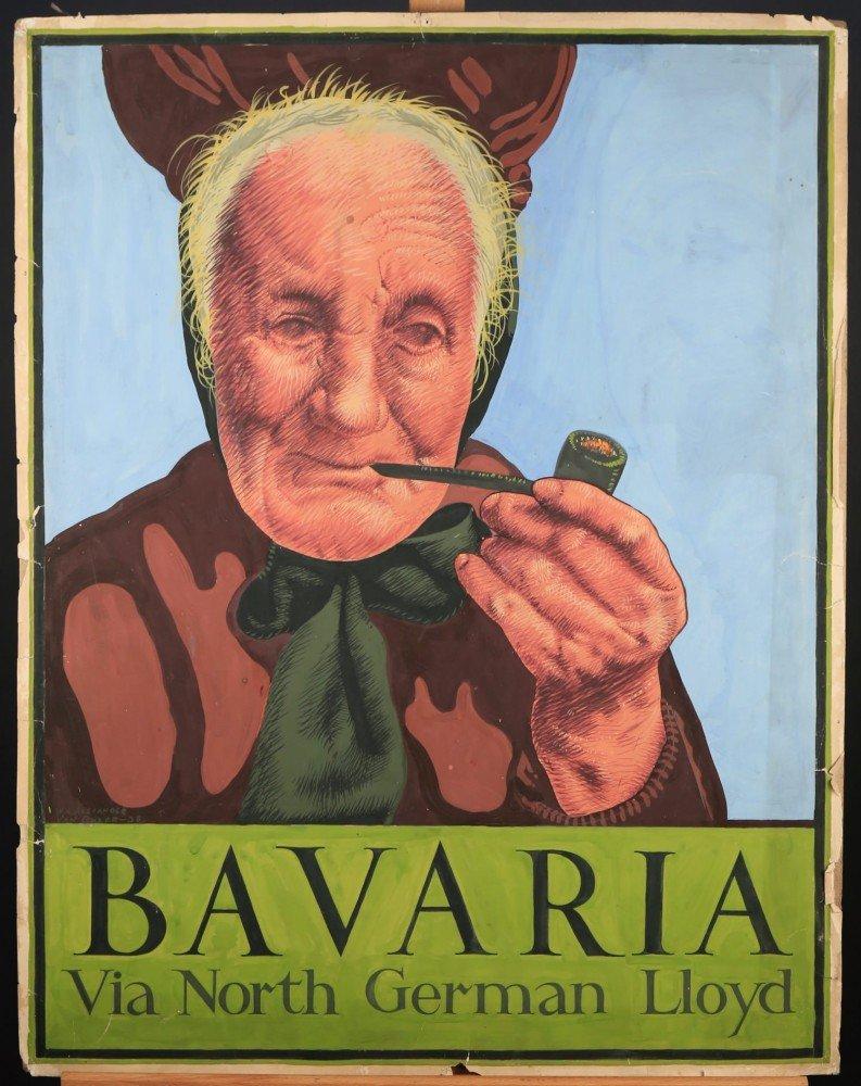 Bavaria via North German Lloyd by William A. Van Duzer