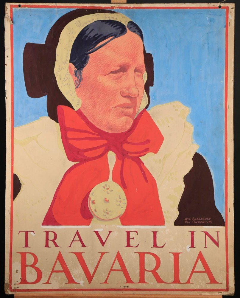 Travel in Bavaria by William A. Van Duzer