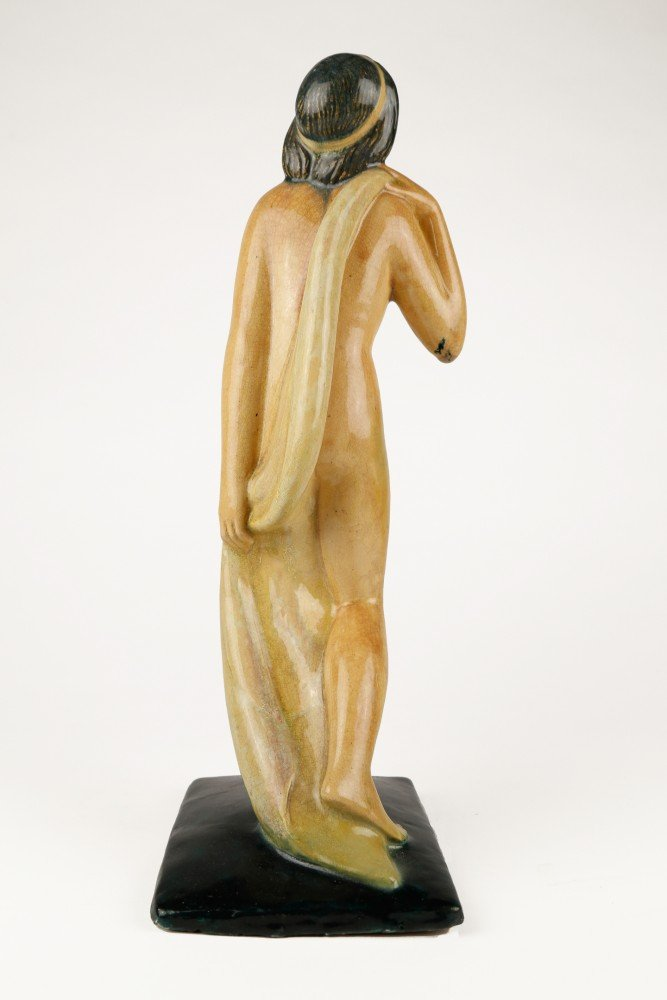 Ceramic Sculpture of a Woman by Waylande Gregory