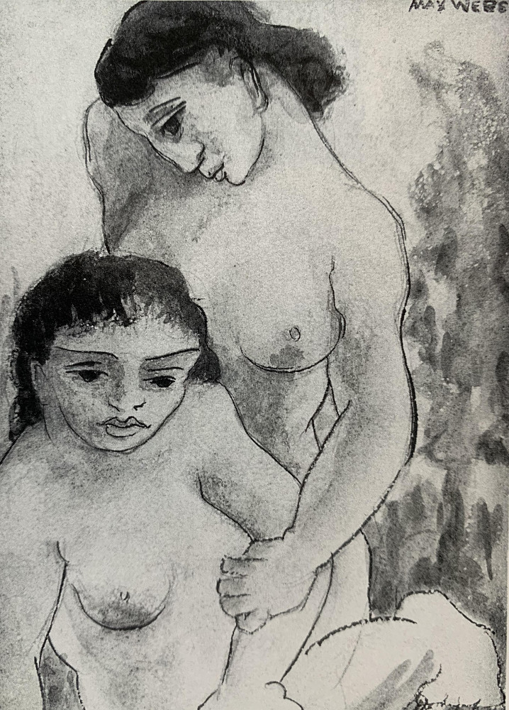 Two Women by Max Weber