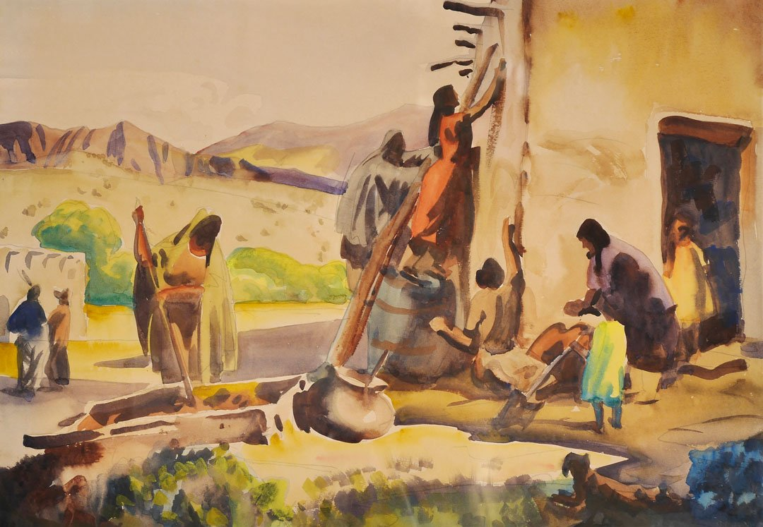 The Adobe by Frank Nelson Wilcox