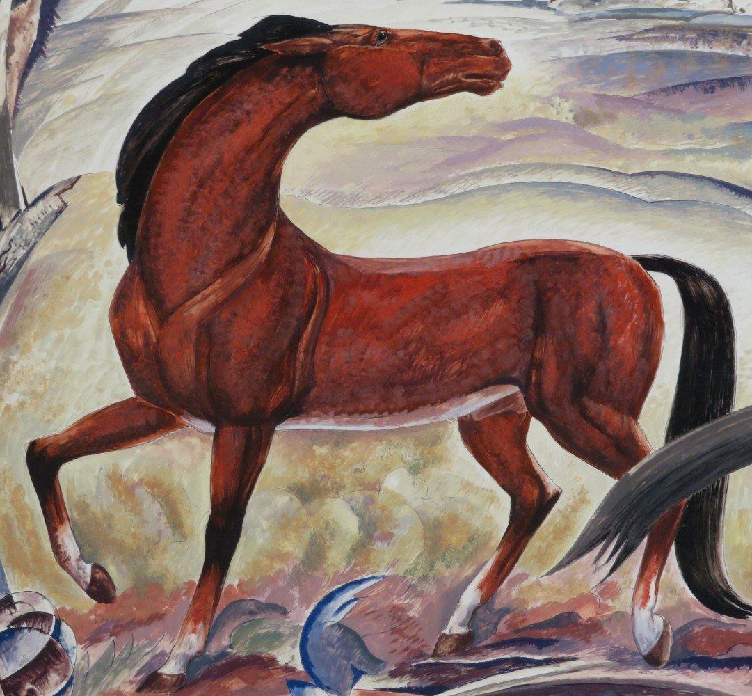 Wild Horses by William C. Grauer