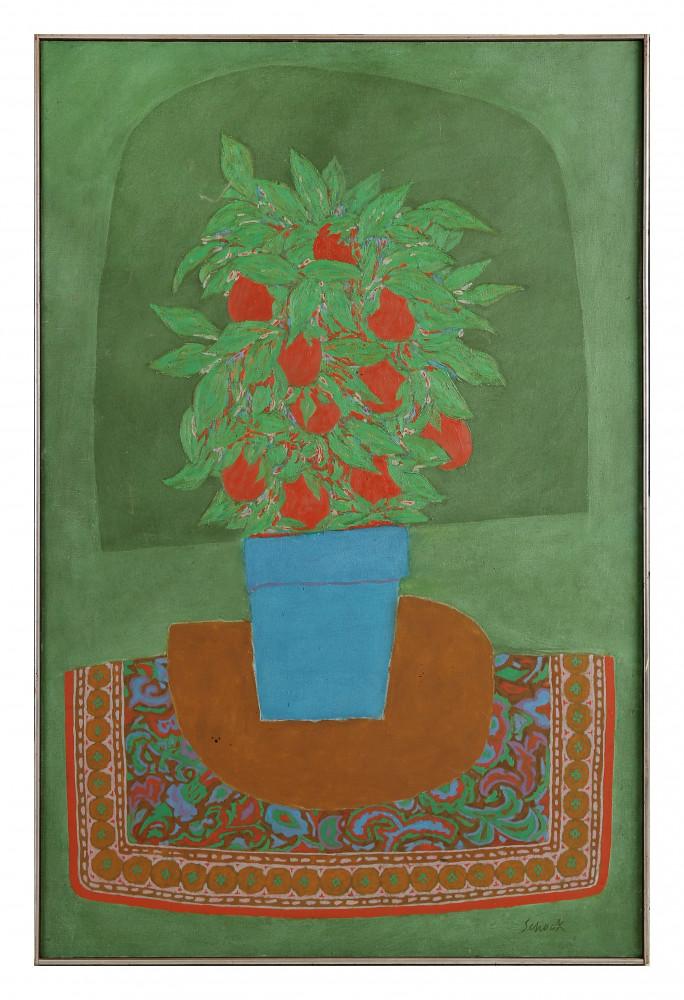 Blue Pot by William Schock