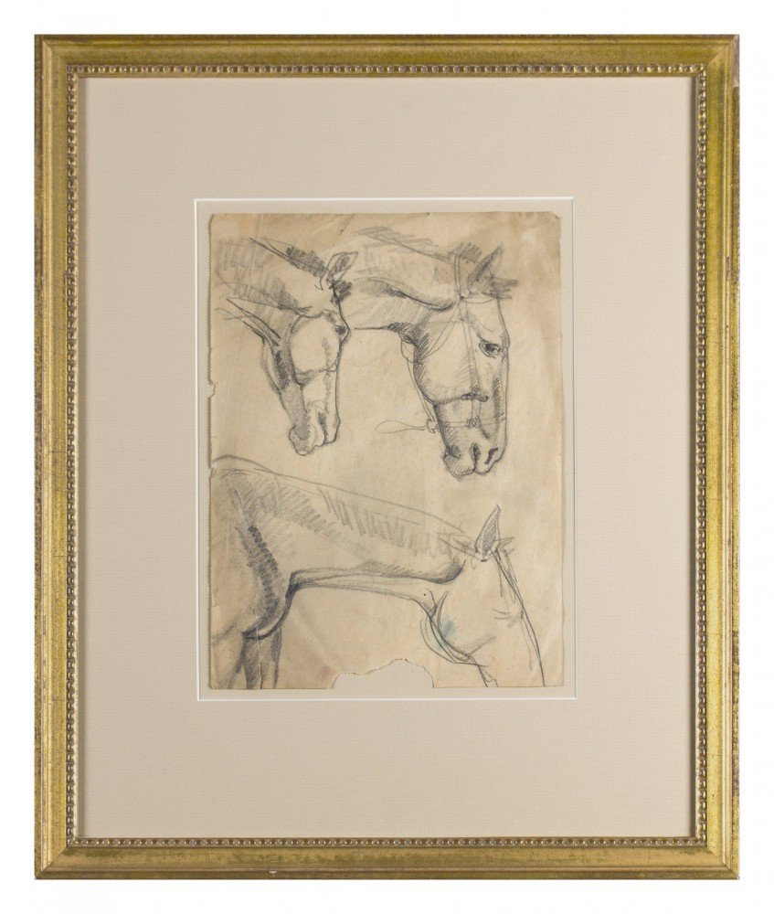 Sketches of Horses by William Sommer