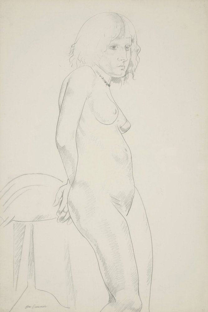 Nude by William Sommer