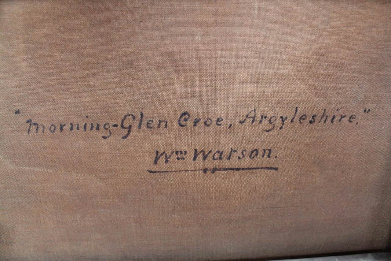 Morning-Glen Croe, Argyleshire by William Watson