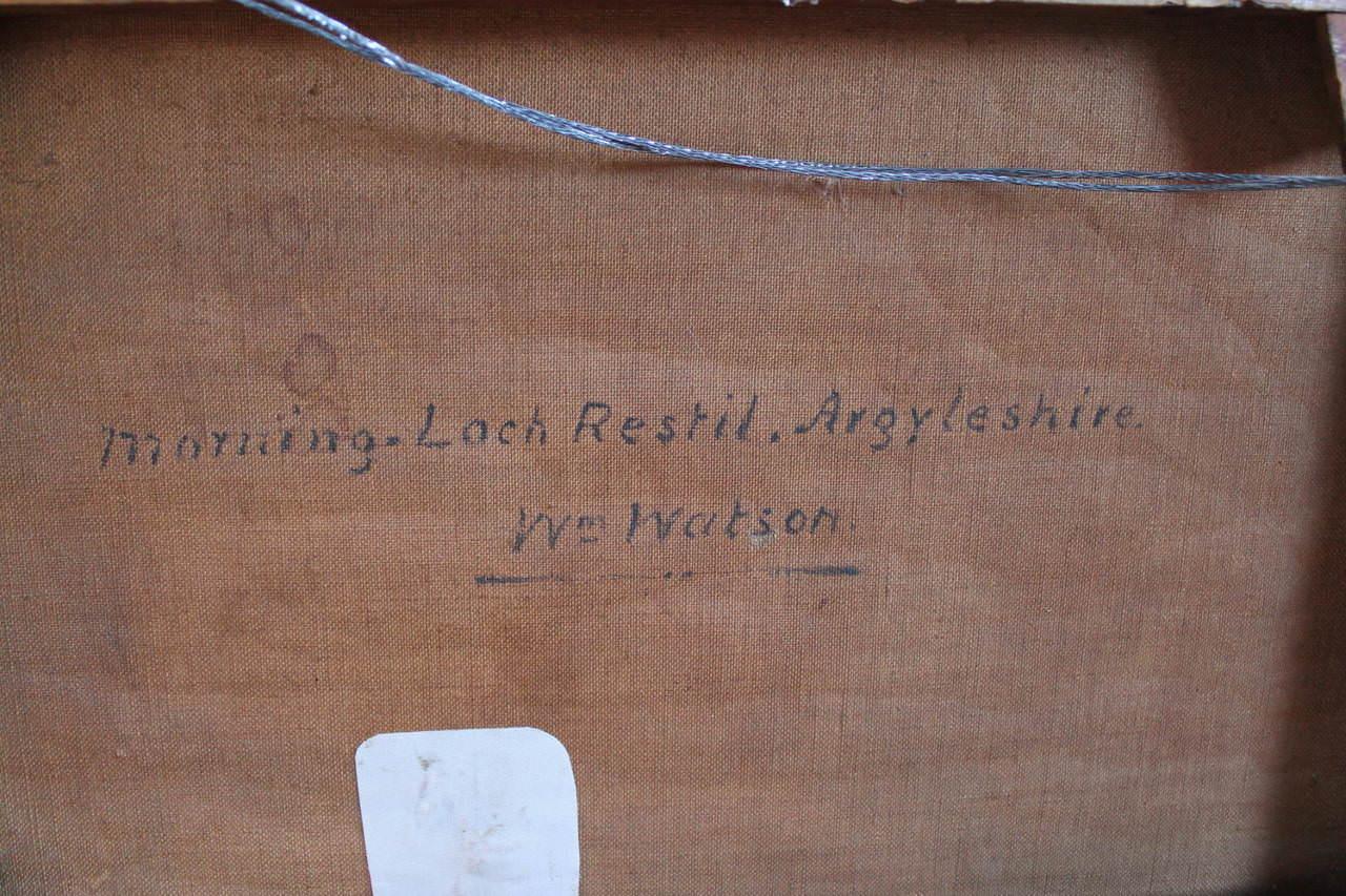 Morning-Loch Restil, Argyleshire by William Watson