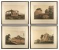 Set of Four Aquatints from 'Oriental Scenery' by Thomas DaniellWilliam Daniell