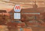 Marathon Station, Dusk by William A. Van Duzer