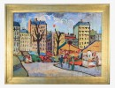Agnes Brodie (French 20thc.) - Paris City Street