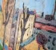 Agnes Brodie (French 20thc.) - Paris City Street