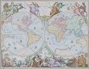 Two 17th Century Maps, Astrological and Terrestrial