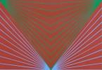 Abstract Color Screenprint Print:
