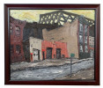 Impressionist Brooklyn Streetscape (2), $600 by Arnold Sharrad