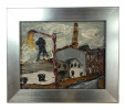 Impressionist Brooklyn Streetscape (6) $300 by Arnold Sharrad