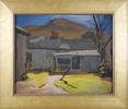Blue Stone Backyard by Carl Frederick Gaertner