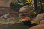 Doan Brook, Cleveland by Carl Frederick Gaertner
