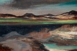 Landscape Oil on Panel Painting: