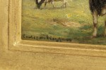 Cattle in Landscape by Guy Carleton Wiggins