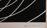 Abstract Silkscreen Painting: