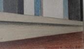 Landscape Pastel on Paper Drawing:
