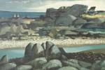 Irish Coastal Landscape by Daniel O'Neill