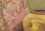 Still Life Oil on Illustration Board Painting:
