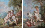 Figurative Oil Paintings on Canvases Painting: