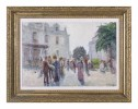 Boulevard Scene, Paris by Alfred Hermann Helberger