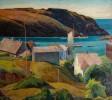 Harbor at Monhegan Island by George Gustav Adomeit