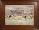 Bright Winter Day by George Glenn Newell