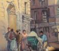 Rue Ecole de Medecine, Paris by Abel G. Warshawsky