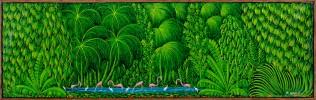 Flamingos in the Jungle by Henri Robert Bresil