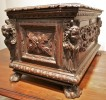 An Italian Baroque Walnut Table Cassone