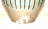 A Japanese Shigaraki Urn With Spout