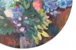 Still Life, Flowers in a Vase by Karl Schrag