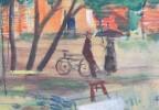 Schoolgirls in the Park, Paris by Kurt Polter