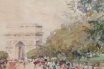 L'Avenue du Bois de Boulogne by Luther E. Van Gorder