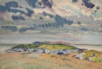Manana Island from a Distance, Maine by Frank Nelson Wilcox