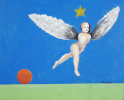 Flying Figure by Mary Spain