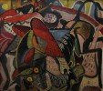 Spanish Bull Fight II by Paul Bough Travis
