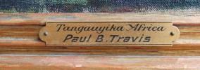 Tanganyika, Africa by Paul Bough Travis