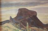 Desert Landscape by Quinter Young