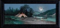 Indian Encampment by C. A. Reiner